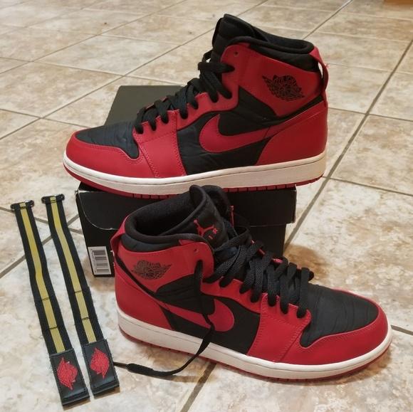 Retro24 Jordan 1 High Strap Gym Red